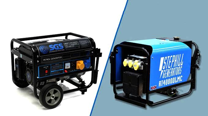 تفاوت ژنراتور های دیزلی و بنزینی
