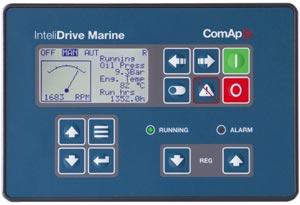 برد دیزل ژنراتور کامپ comap intelidrive marine