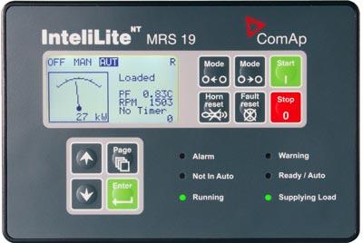 برد دیزل ژنراتور کامپ Intelilite NT MRS